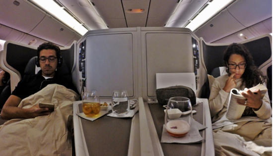 Trip Report Cathay Pacific Business Class Review 777