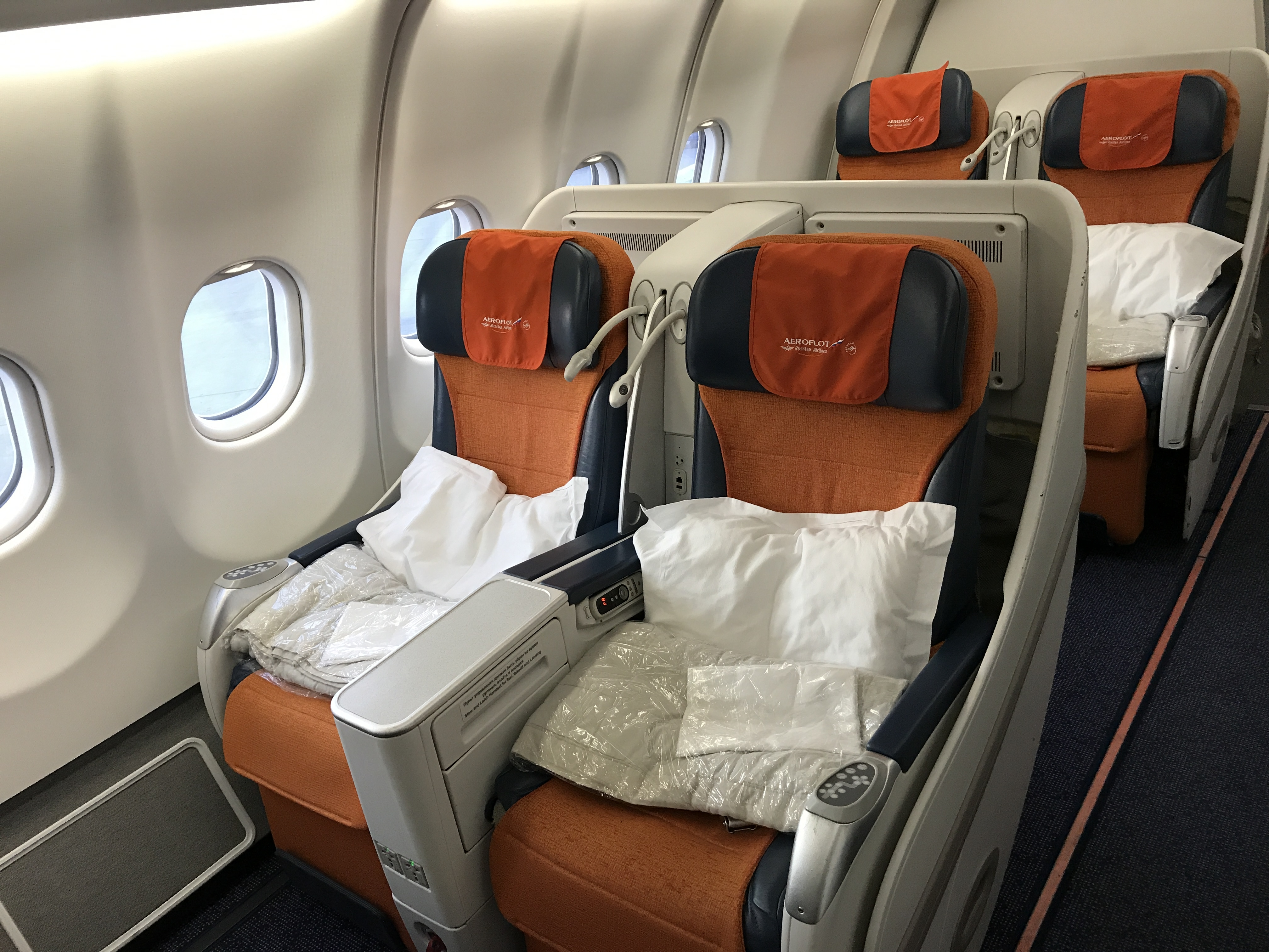 Trip Report Aeroflot A330 Business Class Moscow Svo To