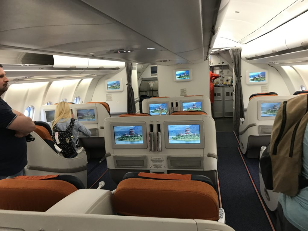 Aeroflot Business Class 016 Points Pointers